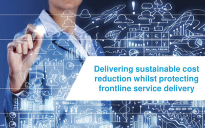 Delivering sustainable cost reduction whilst protecting frontline service delivery